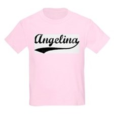 Vintage: Angelina Kids T-Shirt