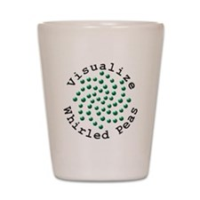Visualize Whirled Peas 2 Shot Glass