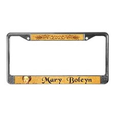 Mary Boleyn License Plate Frame