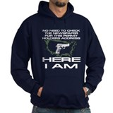 Here I Am Camouflage Nation Hoody