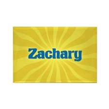 Zachary Sunburst Rectangle Magnet