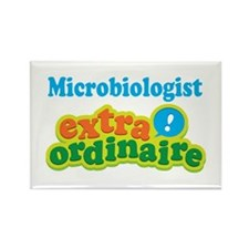 Microbiologist Extraordinaire Rectangle Magnet (10