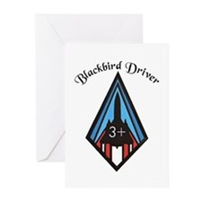 Blackbird Driver Greeting Cards (Pk of 10)