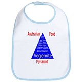 Australian Food Pyramid Bib
