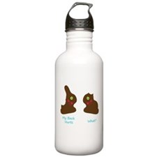 Chocolate BunniesFunny.png Water Bottle