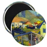 "Cute German designs 2.25"" Magnet (10 pack)"