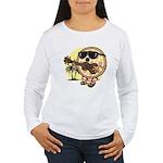 Hawaiian Pizza Women's Long Sleeve T-Shirt