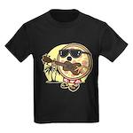 Hawaiian Pizza Kids Dark T-Shirt
