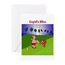 Cupid's Bliss Greeting Cards (Pk of 20)