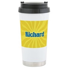 Richard Sunburst Ceramic Travel Mug