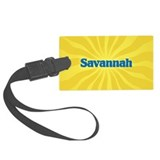 Savannah Sunburst Luggage Tag