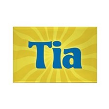 Tia Sunburst Rectangle Magnet
