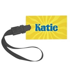 Katie Sunburst Luggage Tag
