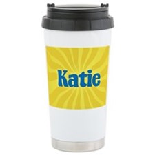 Katie Sunburst Ceramic Travel Mug