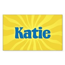 Katie Sunburst Oval Decal
