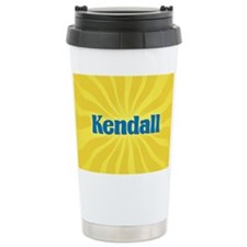 Kendall Sunburst Ceramic Travel Mug