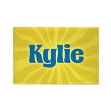 Kylie Sunburst Rectangle Magnet