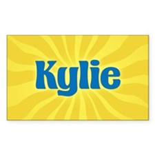 Kylie Sunburst Rectangle Decal