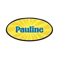Pauline Sunburst Patch