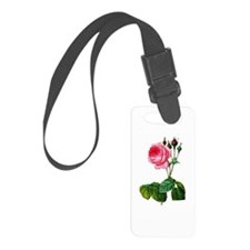 Pierre-Joseph Redoute Rose Luggage Tag