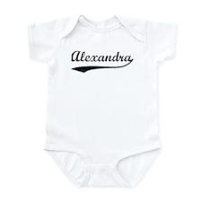 Vintage: Alexandra Infant Bodysuit