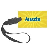 Austin Sunburst Luggage Tag
