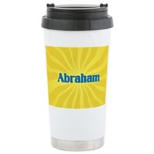 Abraham Sunburst Ceramic Travel Mug