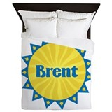 Brent Sunburst Queen Duvet