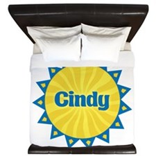 Cindy Sunburst King Duvet