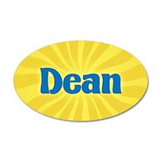 Dean Sunburst 35x21 Oval Wall Decal