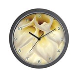 Wall Clock Macro shot of Dalia Flower