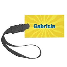 Gabriela Sunburst Luggage Tag