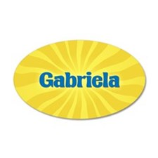 Gabriela Sunburst Wall Decal