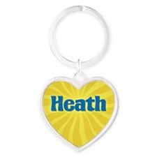 Heath Sunburst Heart Keychain