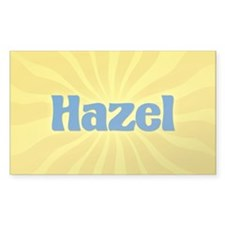 Hazel Sunburst Oval Decal