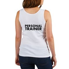 Personal Trainer Black/White Women's Tank Top