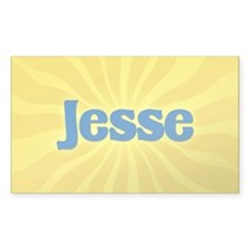 Jesse Sunburst Rectangle Decal