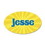 Jesse Sunburst Wall Decal