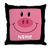 Pig pillow Throw Pillows