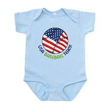 USA Baseball Team Infant Bodysuit