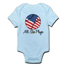 All Star Player Infant Bodysuit