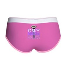 Screw Domestic Violence.png Women's Boy Brief