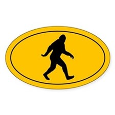 Bigfoot Decal
