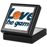 Love The Game Keepsake Box