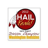 Redskins Hail Yeah NFC East 2012 Champions Square