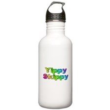 Yippy Skippy (rainbow swirl) Sports Water Bottle