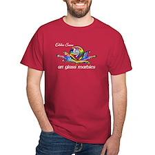 Eddie Seese Art Glass Marbles T-Shirt