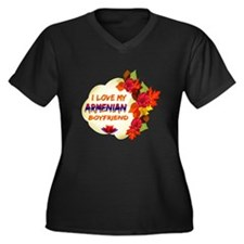Armenian Boyfriend designs Women's Plus Size V-Nec