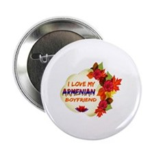 "Armenian Boyfriend designs 2.25"" Button"
