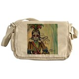 Drummer Girl Messenger Bag